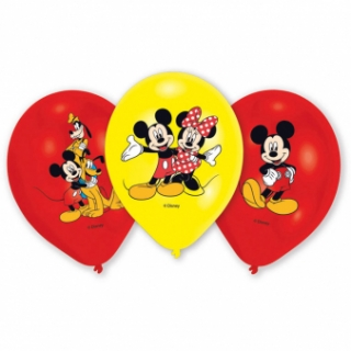 Balonky latex Mickey Mouse