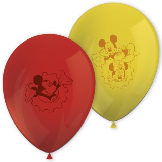 Balonky latex Mickey Mouse 28 cm, 8 ks