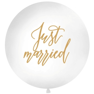 Jumbo balon Just married
