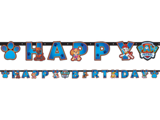Banner Happy Birthday Tlapková patrola