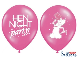 Balonek latex Hen Night Party